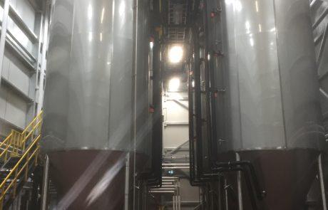 Beau's cellar upgrade, agrandissement du cellier de la brasserie Beau's